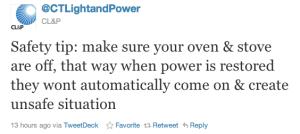Utilities and Social Media