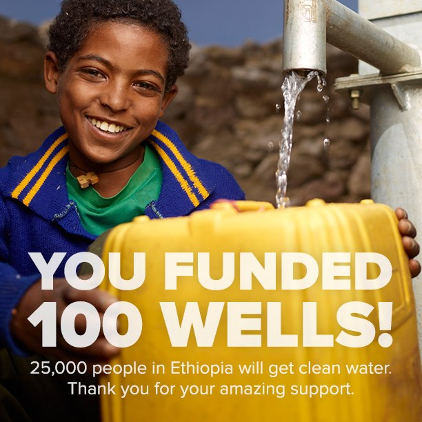 Photo: Charity Water Facebook Page