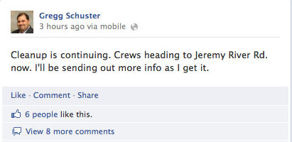 Local Storm Updates on Facebook
