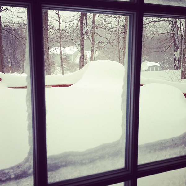Instagram of Winter Storm Nemo