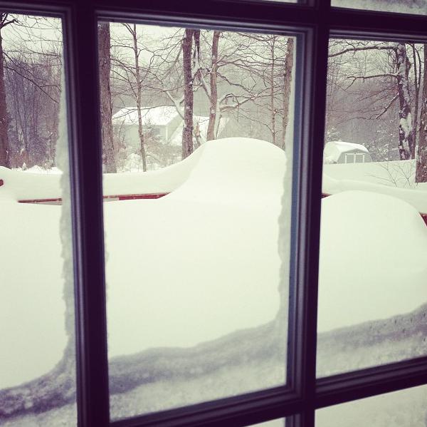 Instagram of Winter Storm Nemo