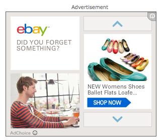ebay online ad targeting