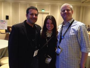 Me, Jeff Cohen and Hunter Boyle at MarketingProfs B2B Forum 2013.